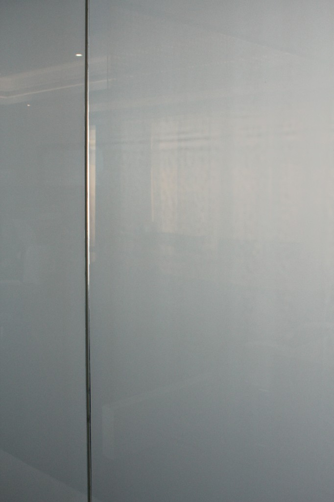 An image of switchable glass at Etihad's HQ