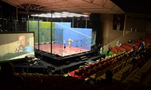 smart privacy glass at Kuwait Cup