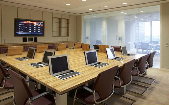 LC Switchable Privacy Glass - Boardrooms of Pictet Bank London