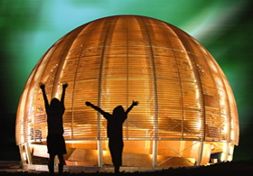 Bespoke Framing System for CERN Globe of Science & Innovation