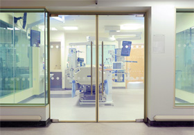 Smarglass Partition System for Sunderland Hospital