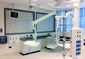 Liquid Crystal Privacy Panels at West Wales General Hospital